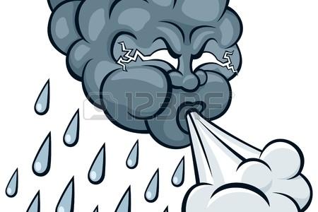 Pluie et vent au menu de cette semaine 37…