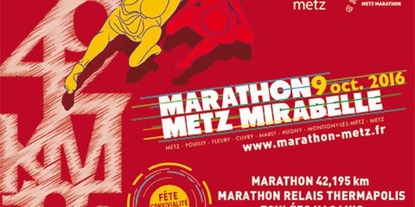 Le marathon de Metz-Mirabelle