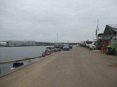 Herstal, le long de la Meuse.