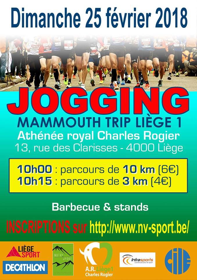 Le Jogging de LIEGE 1