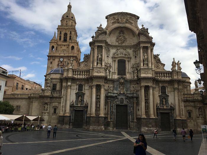 La cathédrale de Murcia.