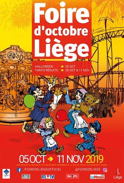 La foire d'octobre est de retour à Liège